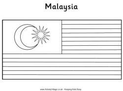 Malaysia clipart bendera