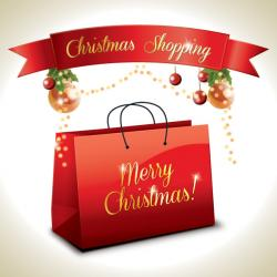 Mall clipart christmas shopping