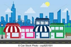 Mall clipart city building