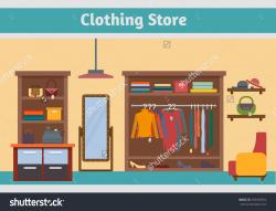 Mall clipart clothing store