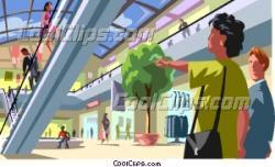 Mall clipart customer