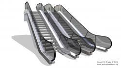 Mall clipart escalator