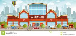 Mall clipart shop