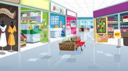 Mall clipart shoppin