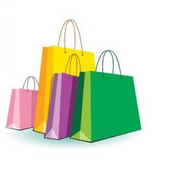 Mall clipart shopping bag