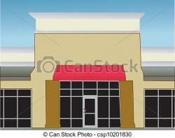 Mall clipart store front