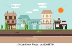 Mall clipart street shop