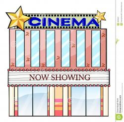 Outside clipart cinema