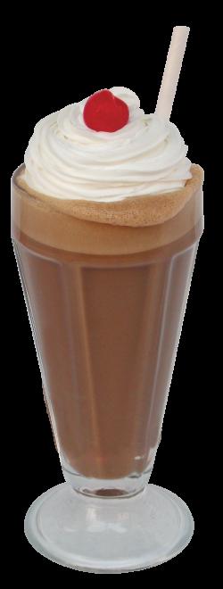 Malt clipart chocolate milkshake