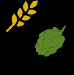 Malt clipart hop