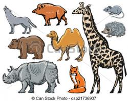 Illustration clipart mammal
