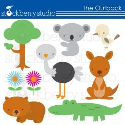 Outback clipart cartoon