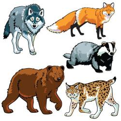 Exotic clipart wild animal
