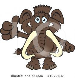 Mammoth clipart animated
