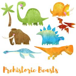Woolly Mammoth clipart dinosaurs