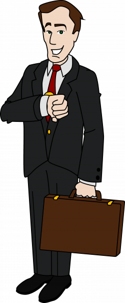Men clipart business man