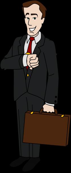 Men clipart business man