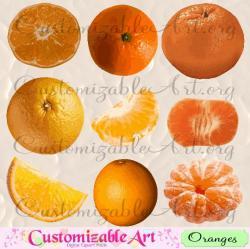 Tangerine clipart sweet