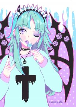 Manga clipart goth