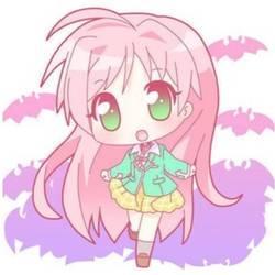 Pink Hair clipart anime hair