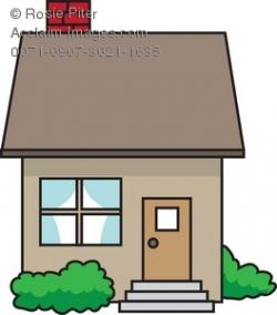 Bungalow clipart small house