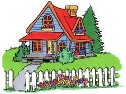 Mansion clipart cartoon