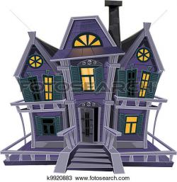 Haunted House clipart cottage