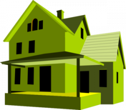 Mansion clipart modern