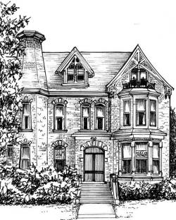 Drawn hosue basic house