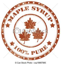 Syrup clipart maple syrup