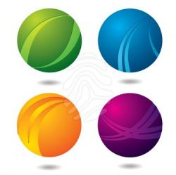 Marble clipart button