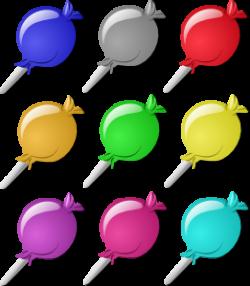 Lollipop clipart ten