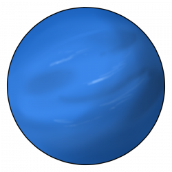 Planets clipart neptune