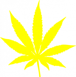 Weed clipart leaf stencil