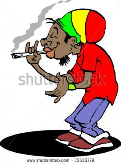 Rastas clipart cartoon
