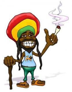 Reggae clipart rasta man