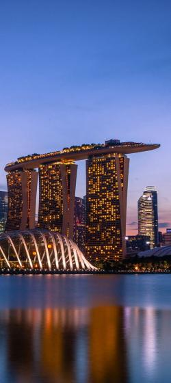 Marina Bay Sands clipart indonesia building