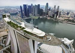 Marina Bay Sands clipart singapore city