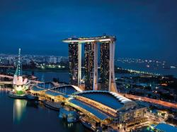 Marina Bay Sands clipart vietnam landmark