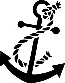 Anchor clipart silhouette