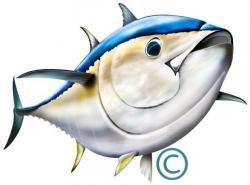 Tuna clipart bluefin tuna