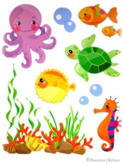 Creature clipart aquarium animal