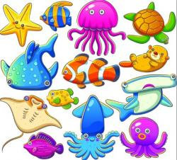 Marine Life clipart aquarium animal
