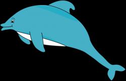 Marine Life clipart baby dolphin