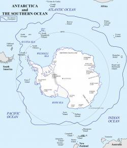 Antarctica clipart antarctic region