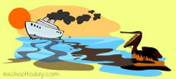 Oil clipart water pollution