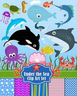 Marine Life clipart deep sea