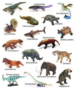 Extinct clipart prehistoric