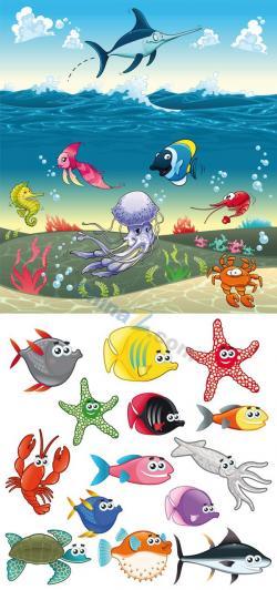 Marine Life clipart field trip