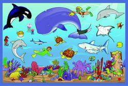 Marine Life clipart ocean ecosystem